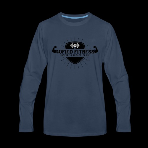 40FIED LOGO APPAREL - Men's Premium Long Sleeve T-Shirt