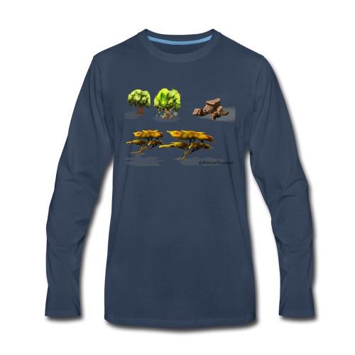 Naturelle - Men's Premium Long Sleeve T-Shirt