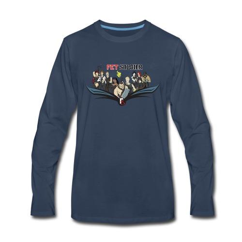 FetSoldier - Group - Men's Premium Long Sleeve T-Shirt