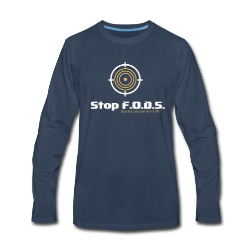 Stop F.O.D.S. - Men's Premium Long Sleeve T-Shirt