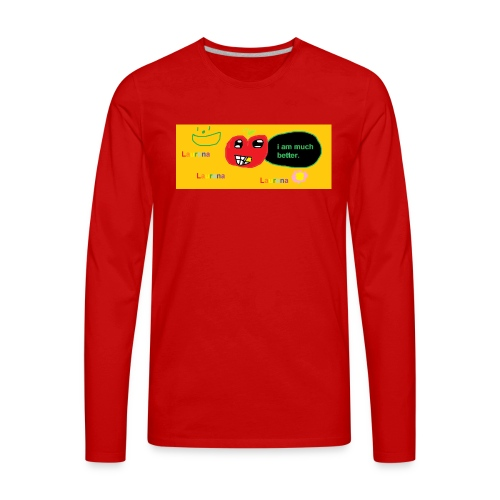 pechy vs apple - Men's Premium Long Sleeve T-Shirt