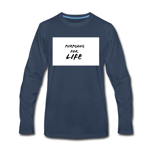 Purpgang - Men's Premium Long Sleeve T-Shirt