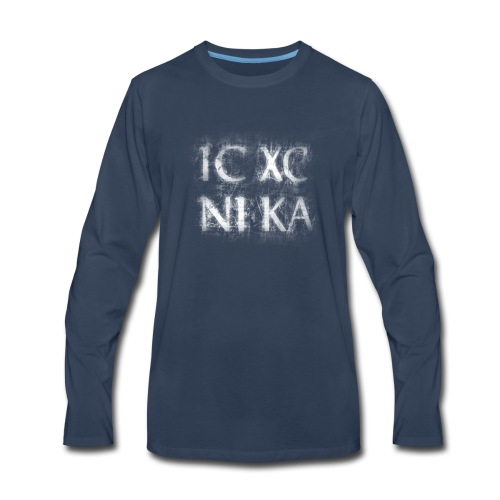 ICXC NIKA - Men's Premium Long Sleeve T-Shirt
