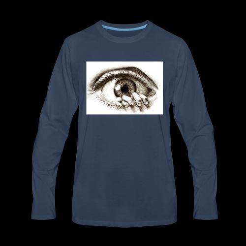 eye breaker - Men's Premium Long Sleeve T-Shirt