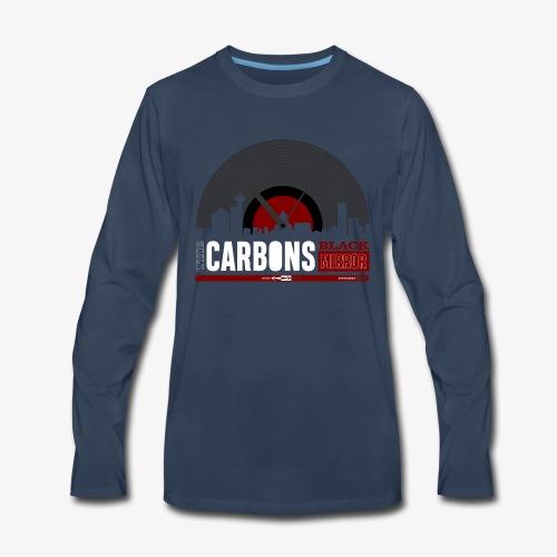 Black Mirror logo - Men's Premium Long Sleeve T-Shirt