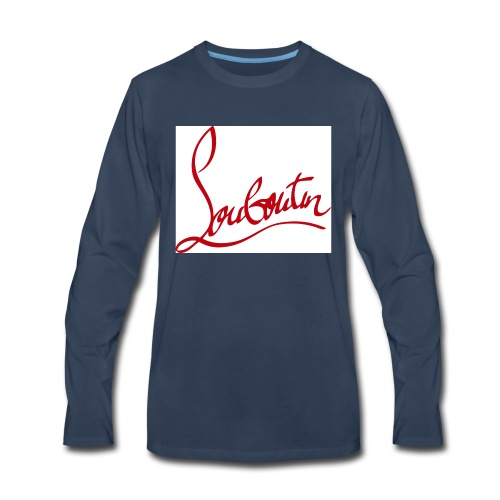 99607fe2a229 Christian Louboutin T shirts Tee shirts Tees Red B - Men s Premium Long  Sleeve T-