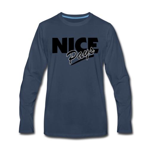 nicepays11 - Men's Premium Long Sleeve T-Shirt