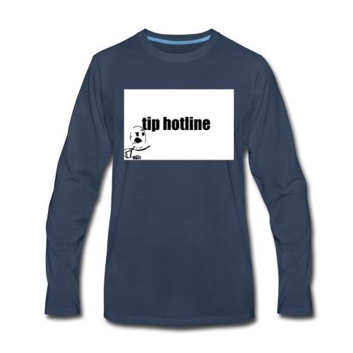 Tip hotline Phone Case - Men's Premium Long Sleeve T-Shirt