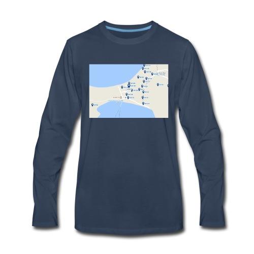 hEy - Men's Premium Long Sleeve T-Shirt