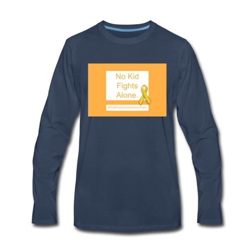 No Kid Fights Alone. - Men's Premium Long Sleeve T-Shirt