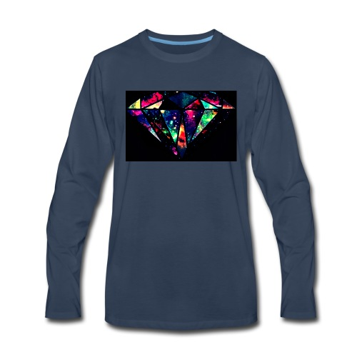 diamond-7 - Men's Premium Long Sleeve T-Shirt