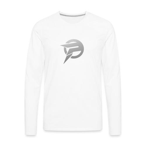2dlogopath - Men's Premium Long Sleeve T-Shirt