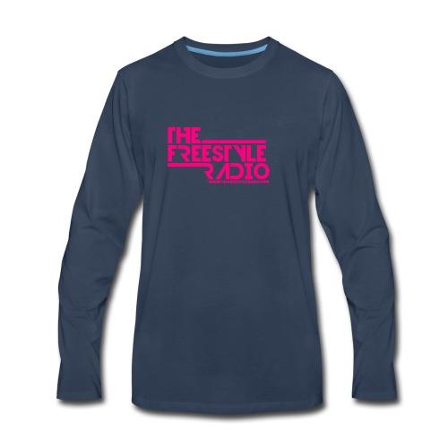 pink design logo 2018 - Men's Premium Long Sleeve T-Shirt