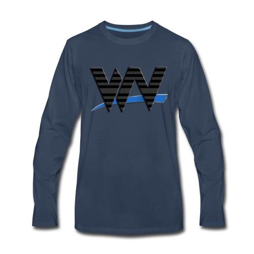 Wrestling News Merch - Men's Premium Long Sleeve T-Shirt