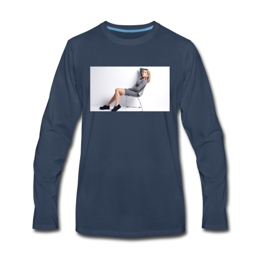 ellie goulding 1920x1080 - Men's Premium Long Sleeve T-Shirt