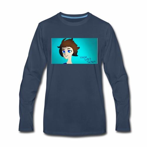 VinceWasTaken-New - Men's Premium Long Sleeve T-Shirt