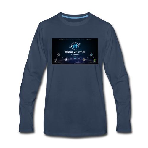 Cryptocurrency - Men's Premium Long Sleeve T-Shirt