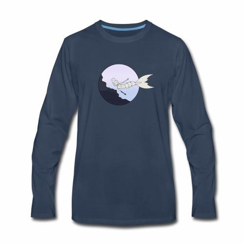 Robot underwater - Men's Premium Long Sleeve T-Shirt