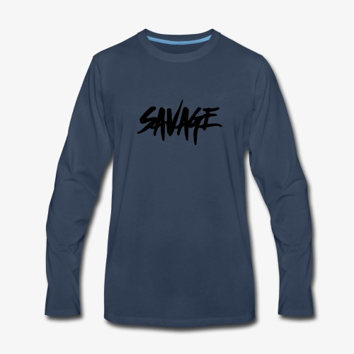SAVAGE LINEUP - Men's Premium Long Sleeve T-Shirt