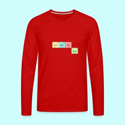 Modern Chemistry - Men's Premium Long Sleeve T-Shirt