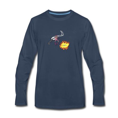 Gape Hoodie - Men's Premium Long Sleeve T-Shirt