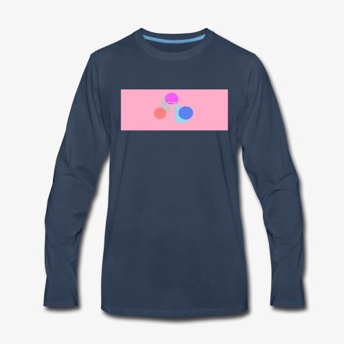 chill shirt design - Men's Premium Long Sleeve T-Shirt