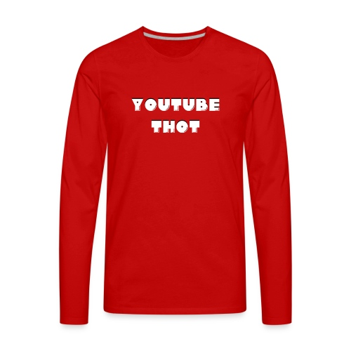 thot af - Men's Premium Long Sleeve T-Shirt