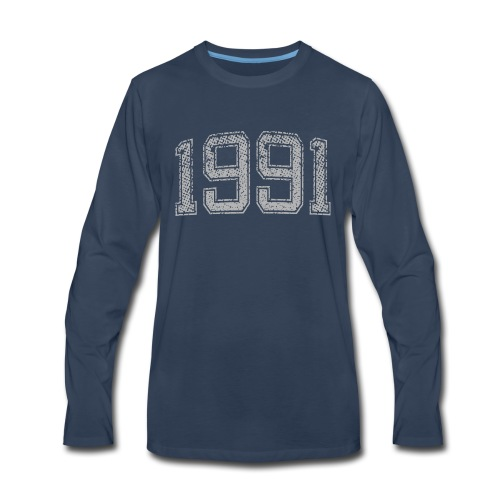 1991 Year Vintage - Men's Premium Long Sleeve T-Shirt