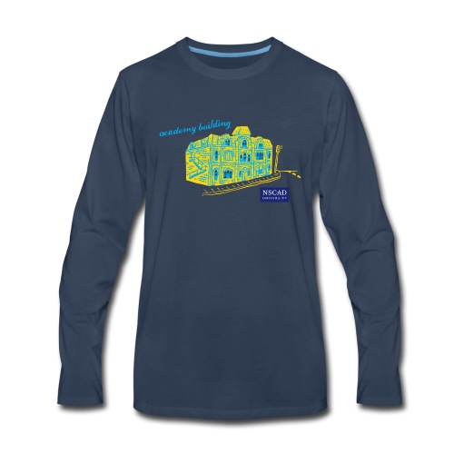NSCAD Academy Campus - Men's Premium Long Sleeve T-Shirt