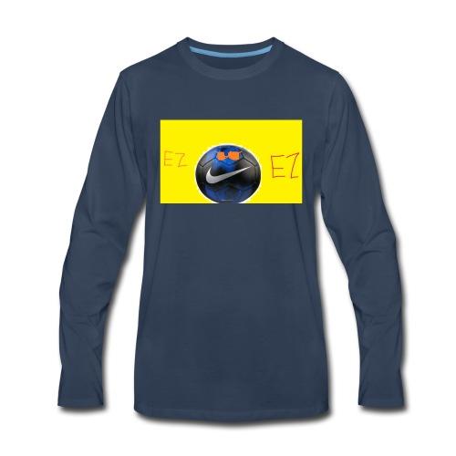 ez soccer tekkerz - Men's Premium Long Sleeve T-Shirt