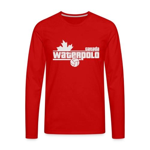 Waterpolo Canada t-shirt - Men's Premium Long Sleeve T-Shirt