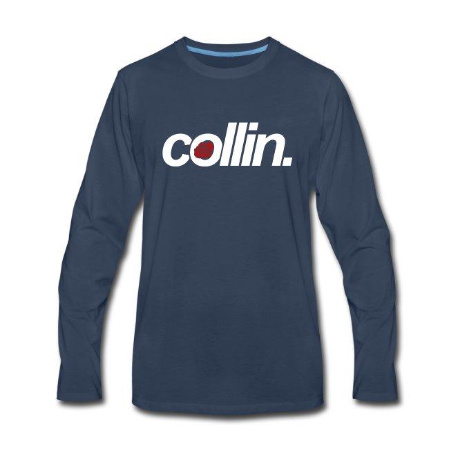 Collin. (White w/ Rose)