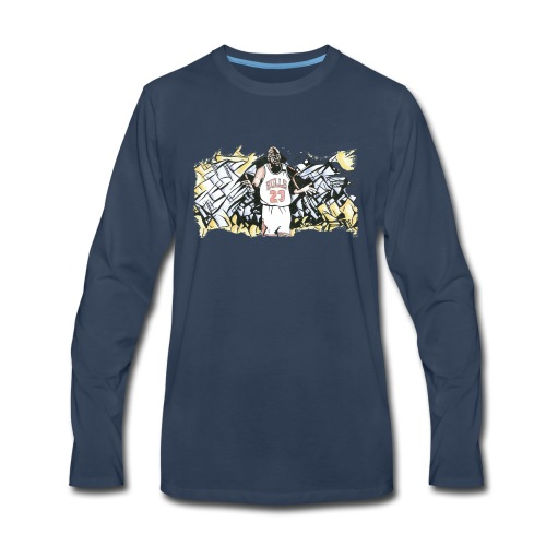 MJ - Men's Premium Long Sleeve T-Shirt