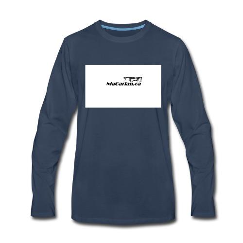 Niagarian Hoodie - Men's Premium Long Sleeve T-Shirt