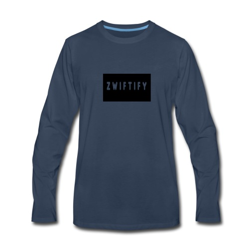 zwiftify - Men's Premium Long Sleeve T-Shirt