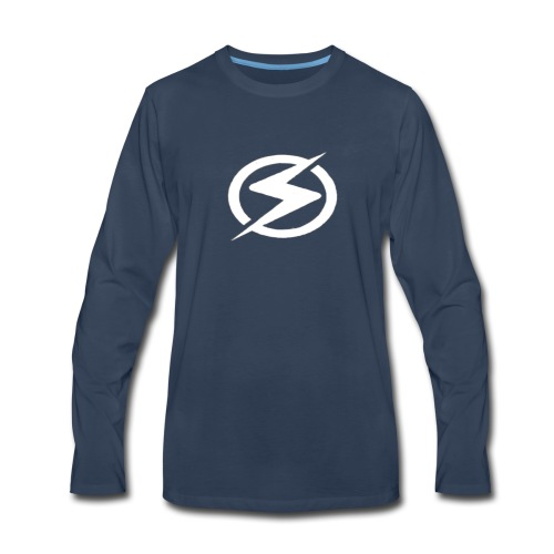 Static - Men's Premium Long Sleeve T-Shirt