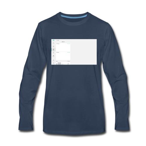 HTMLCSS - Men's Premium Long Sleeve T-Shirt