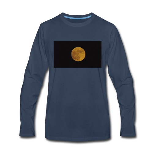 Moon Shining - Men's Premium Long Sleeve T-Shirt
