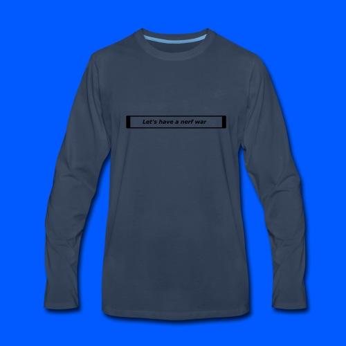 Nerf™ War design - Men's Premium Long Sleeve T-Shirt
