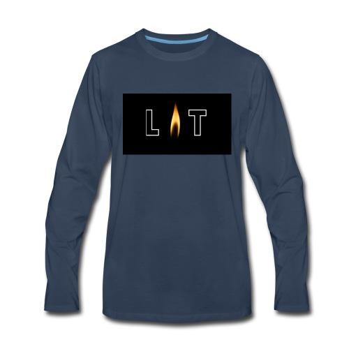 LIT LOGO DESIGN - Men's Premium Long Sleeve T-Shirt