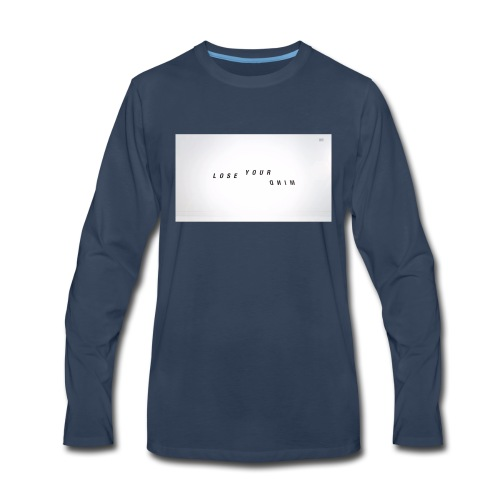 Teen Wolf Lose Your Mind - Men's Premium Long Sleeve T-Shirt