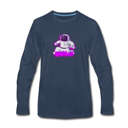 iTzFluX Brand Logo - Men's Premium Long Sleeve T-Shirt