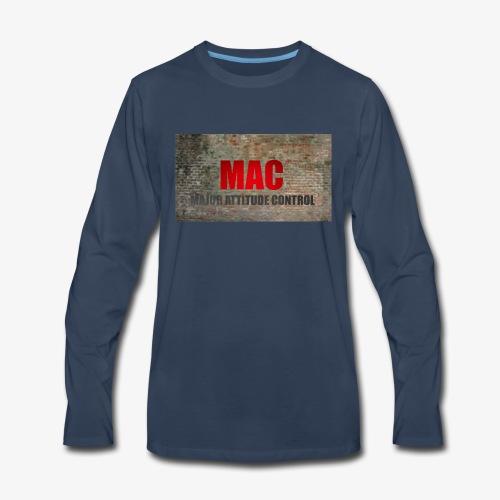 MAC LOGO - Men's Premium Long Sleeve T-Shirt