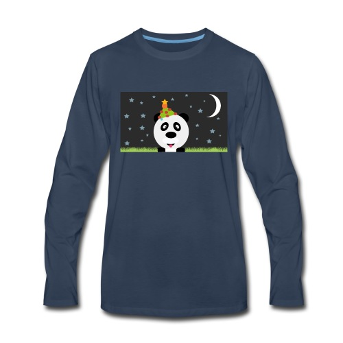 Panda Christmas - Men's Premium Long Sleeve T-Shirt