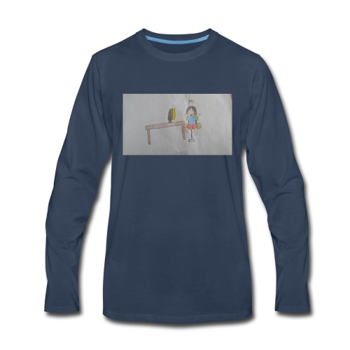 fan art test 1 - Men's Premium Long Sleeve T-Shirt