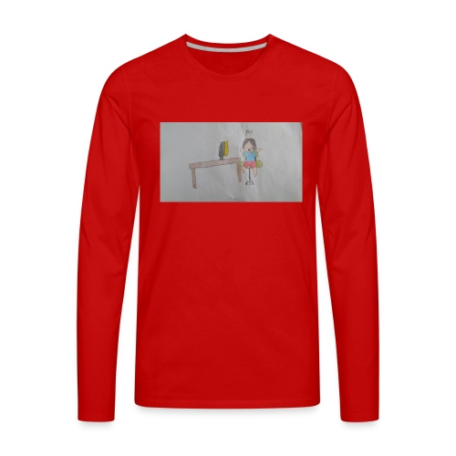 fan art test 1 - Men's Premium Long Sleeve T-Shirt