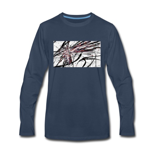 Original Abstract Samsung Galaxy S6 Rubber Case - Men's Premium Long Sleeve T-Shirt