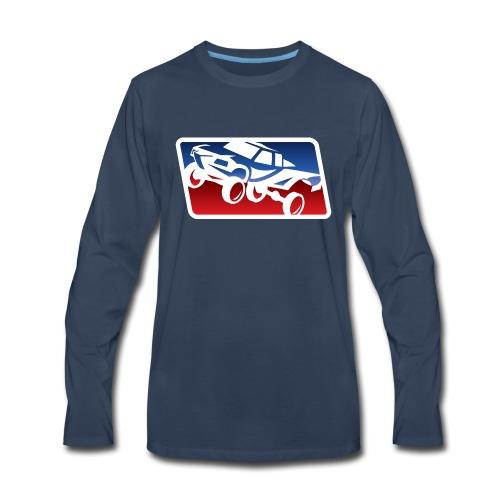 Race Trophy Truck Logo - Men's Premium Long Sleeve T-Shirt