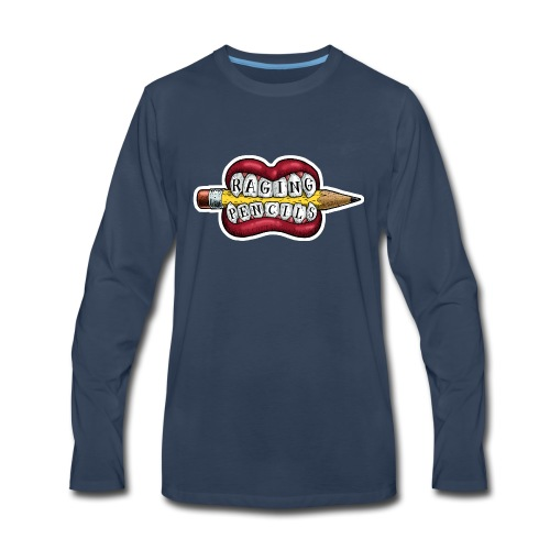 Raging Pencils Bargain Basement logo t-shirt - Men's Premium Long Sleeve T-Shirt
