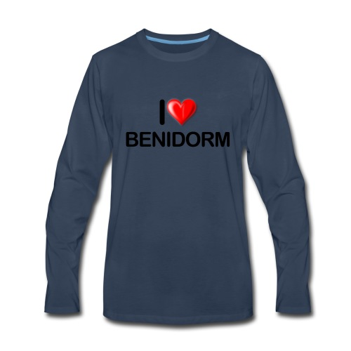 love benidorm - Men's Premium Long Sleeve T-Shirt